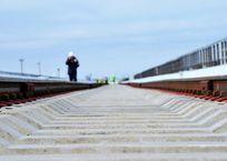 На строительстве железной дороги к Крымскому мосту погиб рабочий, фото — «Рекламы Красногвардейского»