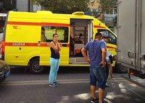 Глухая пробка в центре столицы Крыма: сбили мотоциклиста ФОТО, фото — «Рекламы Алушты»