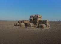 «Ну и фантазия»: Крымчане фотографируются со скульптурами из соломы ФОТО, фото — «Рекламы Алушты»