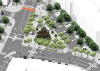 В Севастополе представили новую схему дорожного движения в центре города, фото — «Рекламы Севастополя»