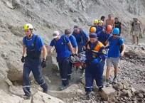 В Судаке турист сорвался со скалы на горе Меганом ВИДЕО, фото — «Рекламы Алупки»