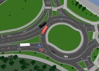 В Севастополе появится первое дорожное турбокольцо, фото — «Рекламы Севастополя»