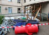 СМИ: Завершение ремонта в 3-й больнице Севастополя никто не контролирует, фото — «Рекламы Севастополя»