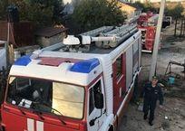 На мысе Фиолент в Севастополе горел дом, фото — «Рекламы Севастополя»