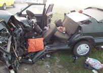 На крымской трассе произошло страшное ДТП: у ВАЗа оторвало крышу, есть погибшие (ФОТО, ВИДЕО), фото — «Рекламы Крыма»