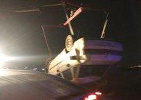 В Севастополе ночью автомобиль вылетел с трассы в кювет ФОТО, фото — «Рекламы Севастополя»