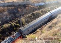 Тест-драйв: Новые двухэтажные поезда прошли через тоннели в Севастополь ФОТО, фото — «Рекламы Севастополя»