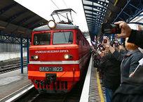 Количество поездов по мосту в Крым будет расти, фото — «Рекламы Евпатории»