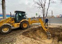 На пр. Генерала Острякова в Севастополе начали реконструировать водовод, фото — «Рекламы Севастополя»