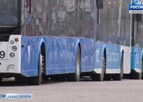 В Севастополе временно прекращено движение троллейбусов №4, 5, 14, 19, фото — «Рекламы Севастополя»