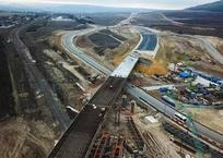 Строители показал видео самого длинного путепровода «Тавриды», фото — «Рекламы Севастополя»