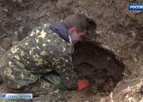 Останки воинов Великой Отечественной найдены при реконструкции площади Ушакова в Севастополе, фото — «Рекламы Севастополя»