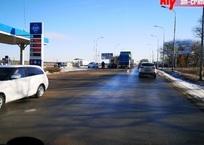 В Крыму на АГЗС лоб в лоб столкнулись легковушки ФОТО, фото — «Рекламы Керчи»