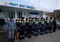 ДПС начала следить за Крымским мостом стационарно, фото — «Рекламы Ялты»