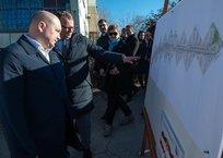 В Севастополе началось комплексное благоустройство проспекта Победы, фото — «Рекламы Севастополя»
