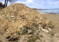 Пляж Омега в Севастополе взрыхлили экскаватором ФОТО, фото — «Рекламы Севастополя»