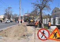 Началось расширение проезжей части на ул. Льва Толстого, фото — «Рекламы Севастополя»