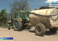 Жителям севастопольских сел не хватает питьевой воды, фото — «Рекламы Севастополя»