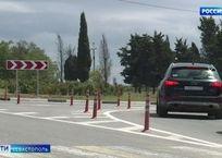 Самым аварийным участком в Севастополе стало кольцо по Вакуленчука - Руднева, фото — «Рекламы Севастополя»