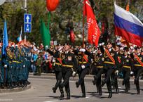 Стало известно, когда пройдет генеральная репетиция Парада Победы в Севастополе, фото — «Рекламы Севастополя»