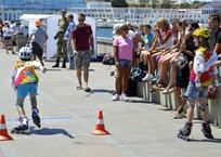 Набережную в Севастополе захватили дети на роликовых коньках ФОТО, фото — «Рекламы Севастополя»