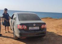 В районе «диких» пляжей Севастополя организованы незаконные автостоянки — Севприроднадзор, фото — «Рекламы Севастополя»