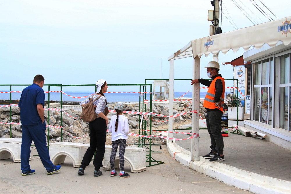 Власти Севастополя расторгнут контракт с подрядчиком реконструкции набережной в парке Победы