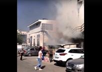 В Севастополе загорелся торговый центр ФОТО, ВИДЕО, фото — «Рекламы Севастополя»