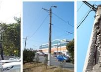 Где находятся «опасные столбы» в Севастополя, готовые в любую минуту обрушиться - адреса, фото — «Рекламы Севастополя»