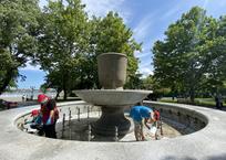 В Севастополе отключили фонтаны для экономии воды, фото — «Рекламы Севастополя»