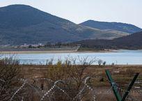 Воды в Чернореческом водохранилище стало еще меньше, фото — «Рекламы Севастополя»