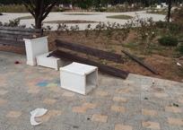 Вандалы рушат Парк Победы в Севастополе ФОТО, фото — «Рекламы Севастополя»