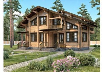 Теплые дома из клееного бруса - современное домостроение, фото — «Реклама Севастополя»