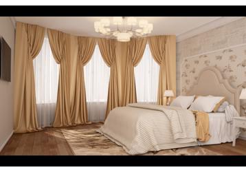 Шторы, жалюзи, карнизы… - текстильное вдохновение вашего интерьера, фото — «Реклама Крыма»