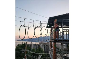 Активный отдых в Крыму – веревочный парк «Лень в пень»: отдых для всей семьи!, фото — «Реклама Крыма»