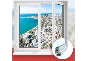 Окна ПВХ в Крыму, производство, доставка, монтаж – «Гарант». 100% качество!, фото — «Реклама Крыма»