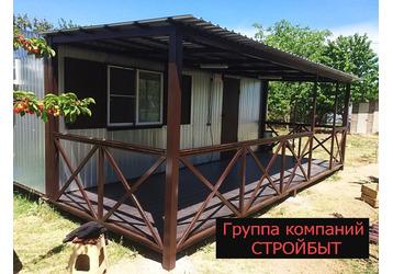 Бытовки в Крыму, павильоны, дачные дома, пункты охраны, склады - отличное качество от производителя, фото — «Реклама Крыма»