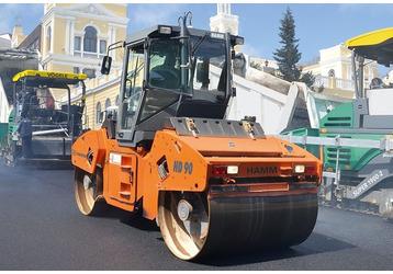 Ремонт дорог, асфальтирование, аренда спецтехники в Симферополе – всегда быстрая качественная работа, фото — «Реклама Крыма»