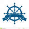 Ship-wheel-banner-nautical-emblem-vector-38823237