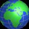 Europe-africa-globe